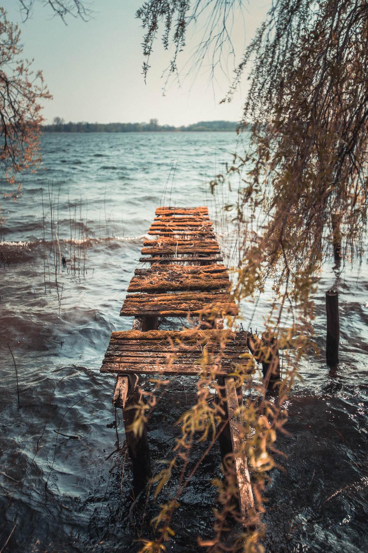 Steg-zur-rauen-See-am-Schaalsee