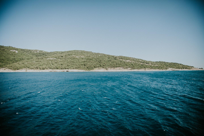 Die Insel Cres ist zusammen mit Krk die größte der Adria