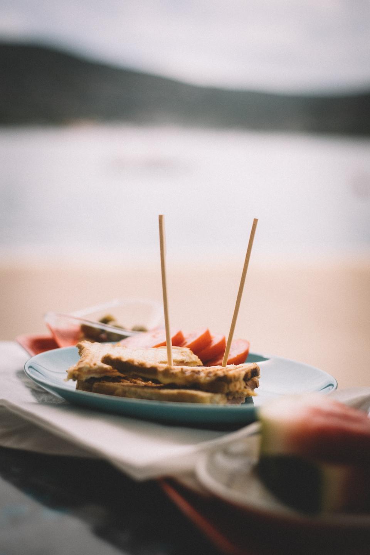 Leckeres Sandwich in der Plavica Bar auf der Insel Cres