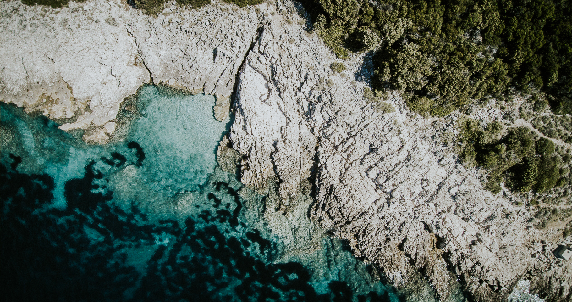 Ausblick bei Martinscica auf der Insel Cres
