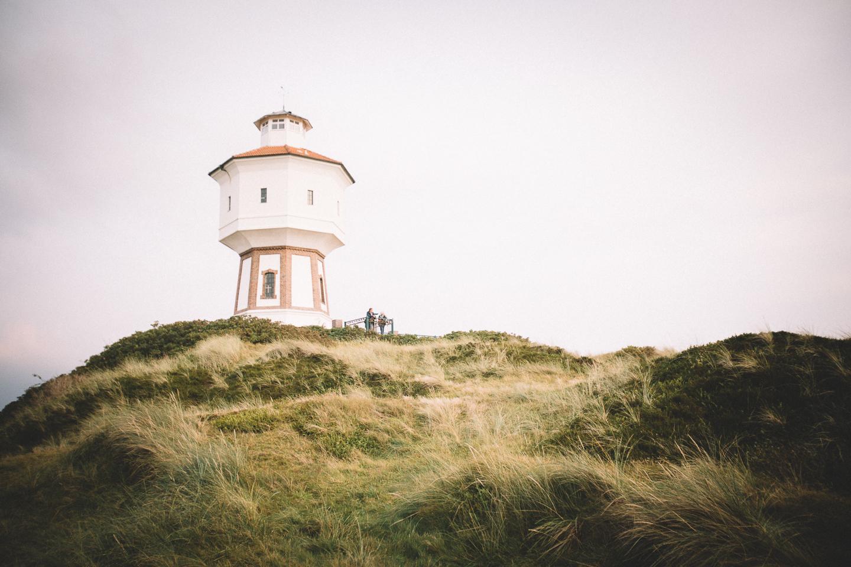 Der Wasserturm auf Langeoog.